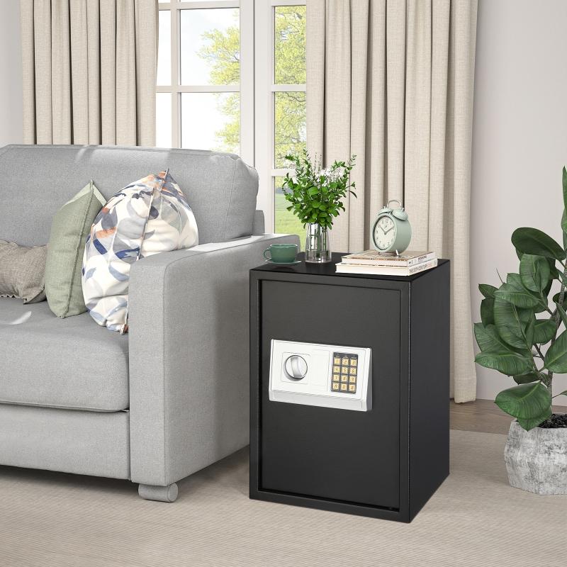 Stalwart Safe With Digital Lock And Manual Override Keys Manual Guide