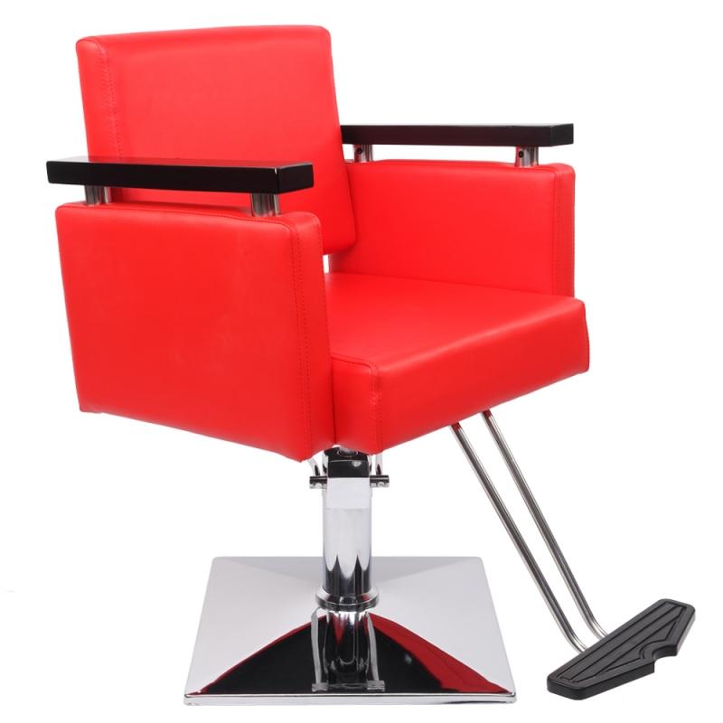 Zimtown Heavy Duty Barber Chair, 360°Swivel Beauty ...