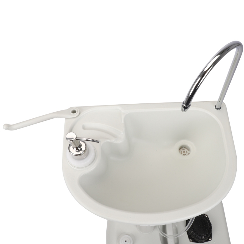 Zimtown Upgrade Portable Sink, Outdoor Wheeled Wash Basin ... on Outdoor Sink With Stand id=42853